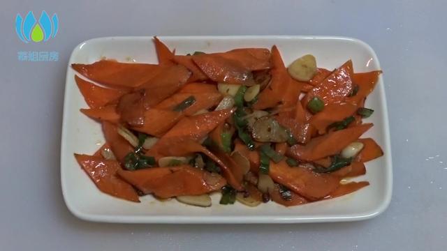 炒胡萝卜的做法_炒胡萝卜怎么做_炒胡萝卜的家常做法【心食谱】