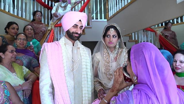 印度高种姓结婚现场太奢华了!