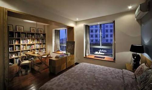 卧室书房一体