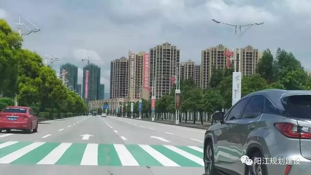 阳西县城迎宾大道改造工程,这边的楼盘会不会升值了?