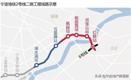 宁波地铁线路图