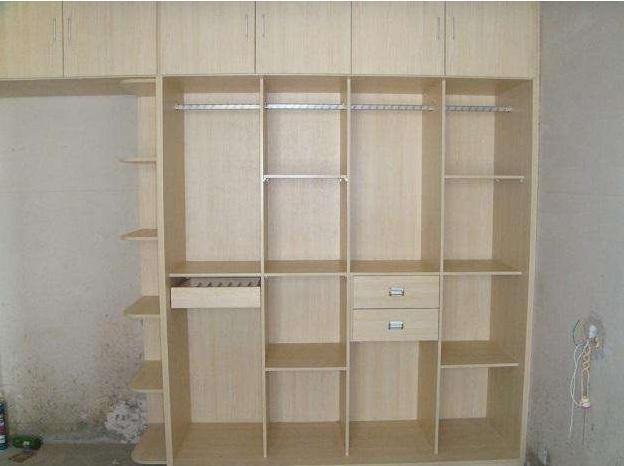 免漆板电视柜木工自做