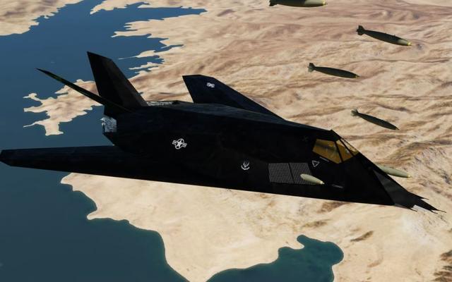 F117战机,隐身性能远超F22,为何在巅峰时期被退役?