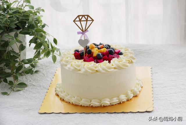 史上最詳盡的生日蛋糕做法,學會這幾步,可以承包全家的生日蛋糕