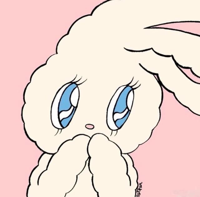 【卡通兔子头像】今日份可爱头像魔方甜点壁纸