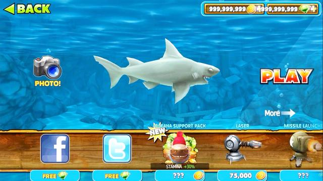 饥饿鲨4破解版无限钻石