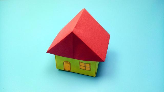 """让孩子亲手设计""""家""""!手工折个立体房子,这个春节不无聊"""