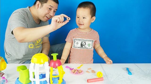 简单好做手工黏土橡皮泥甜甜圈教程,适合亲子互动游戏一起来做吧