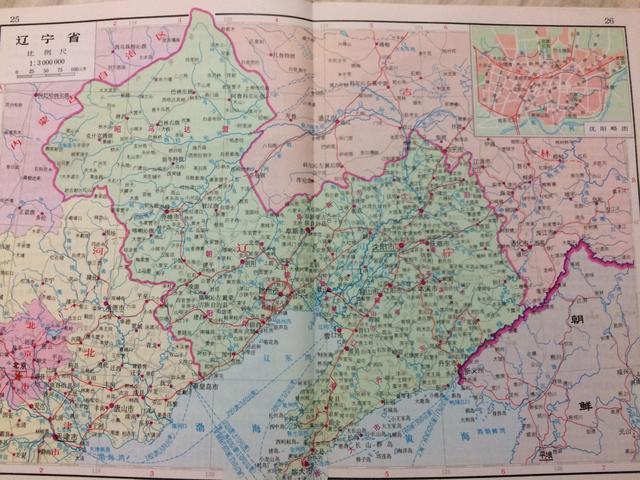 查询辽宁各县区地图