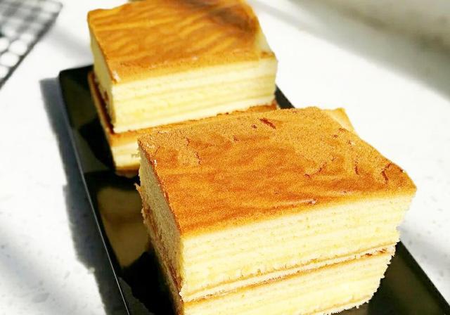 自制層層誘人又清甜爽口的蜂蜜千層蛋糕,每一口都是絲滑甜蜜