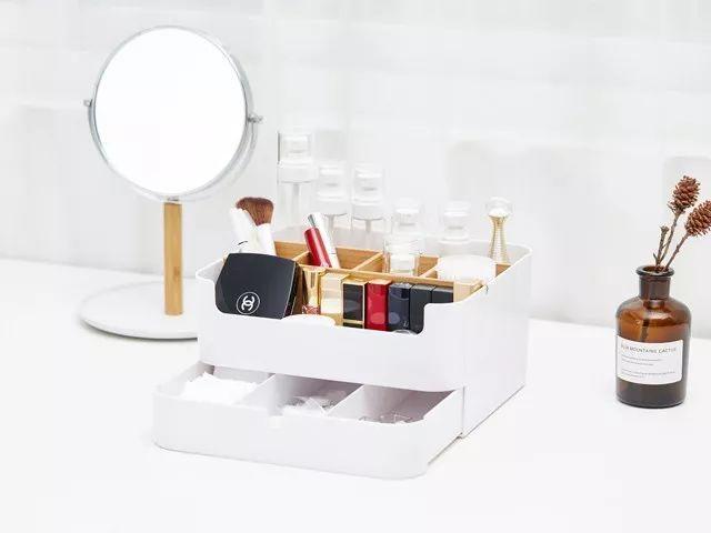 用紙盒自制桌面收納盒
