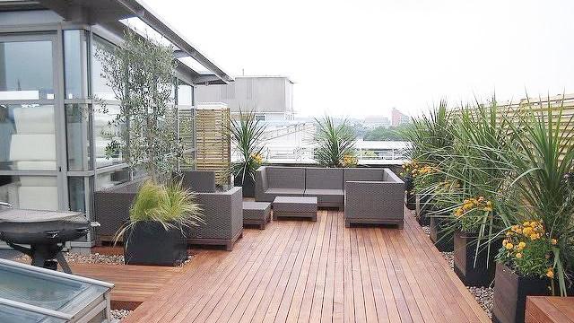 樓頂花園簡單設計