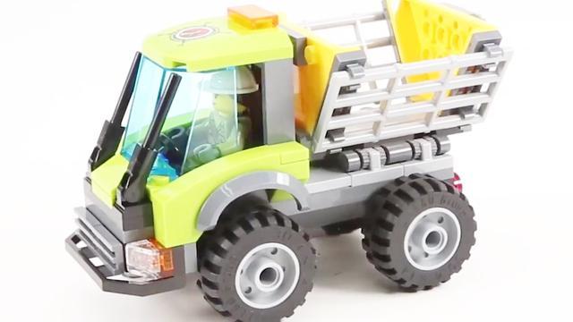 迷你特工队分享乐高积木工程车玩具_网易视频