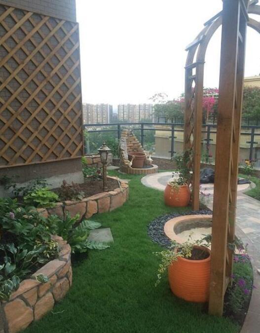 頂層露臺花園