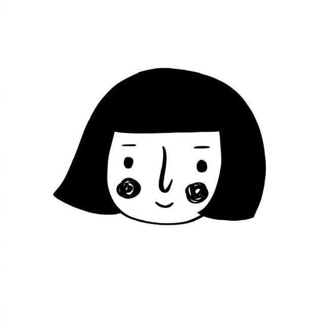 黑白系动漫情侣头像一人一张_情侣头像-酷酷吧-分享网名、签...