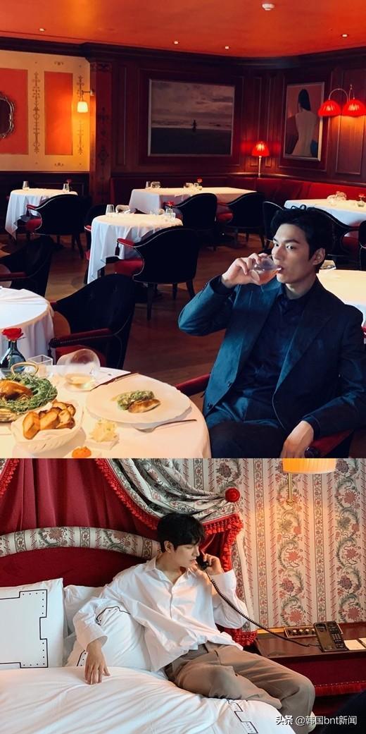 李敏镐身穿西装&白衬衫 展帅气慵懒百变男神魅力