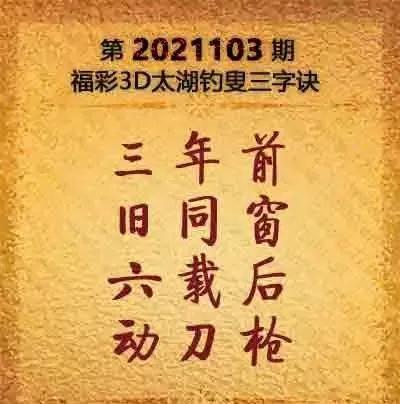 今日3d太湖神字图