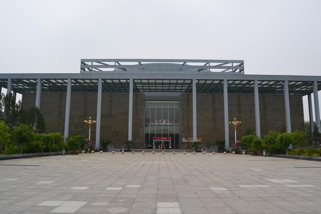 淮海战役纪念馆位置图