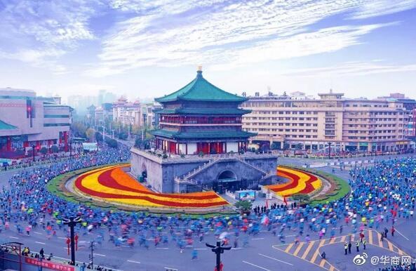 2019西安国际马拉松赛今早10:00开始报名