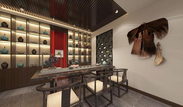 现代简约餐厅如何装修?六款酒柜装修效果图美到哭
