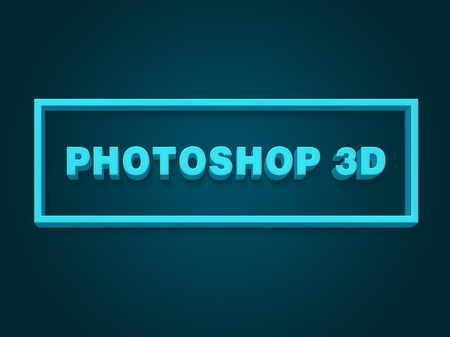 PS制作3D立体字的效果