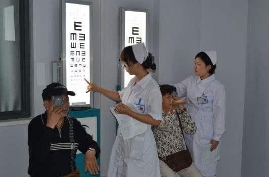 入职体检报告视力