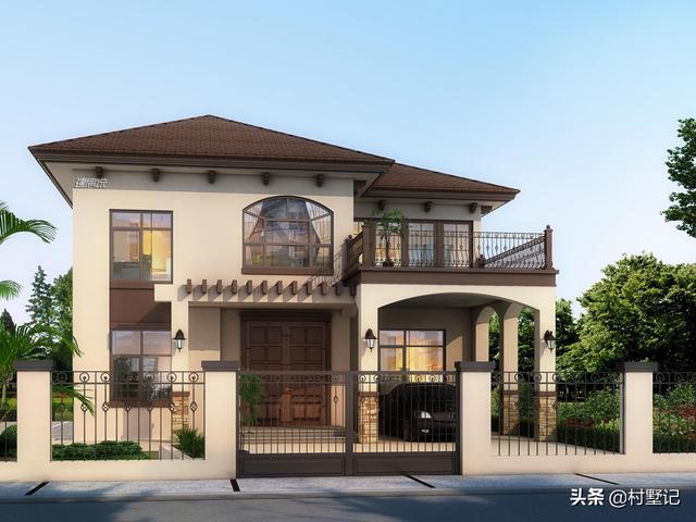 300套图纸精选5款农村小别墅,2020年最款,建房一... _图纸之家