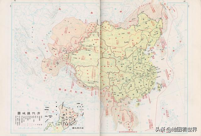 放大10000倍的中国地图下载