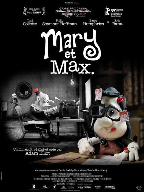 《玛丽与马克思》:不是只有完美的人才配爱自己