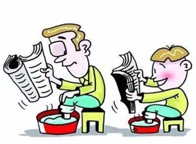 家长教育孩子卡通