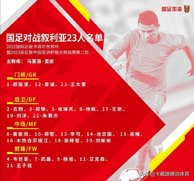 nba比赛结果-世预赛中国队1比2惜败叙
