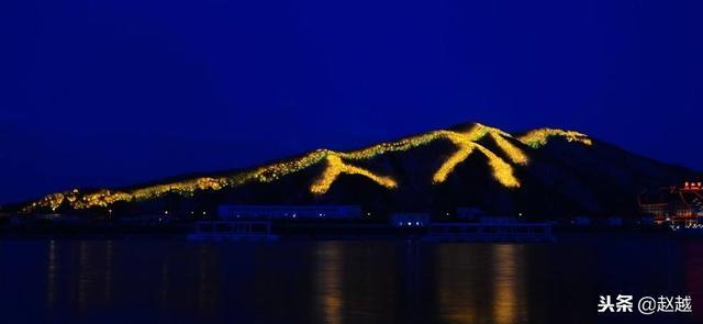 吉林江城夜景