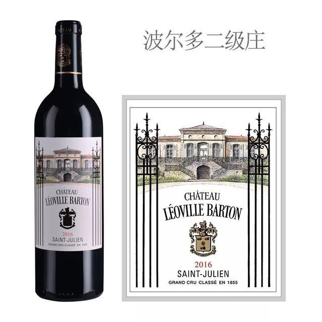 WS2019百大葡萄酒榜单第一名:2016年巴顿城堡