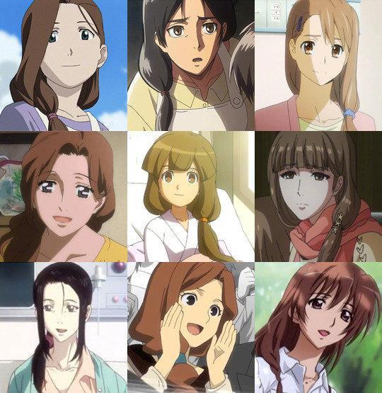 动漫人物一样的头发,动漫中有种发型比较特殊,看见留这种发型的太太记得对她们好点