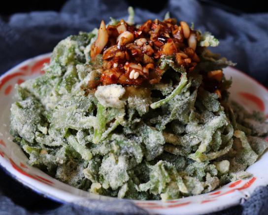 芹菜叶怎么蒸又嫩又好吃呢