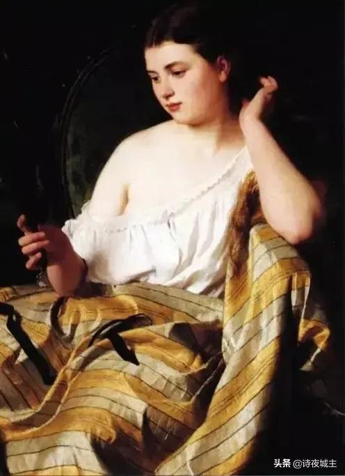 西方油画女性人物欣赏