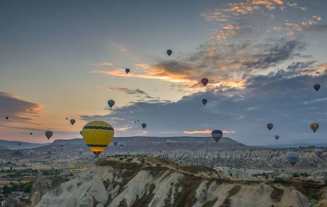土耳其热气球高清