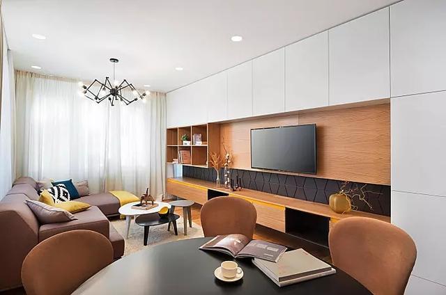 长方形客厅装修效果图