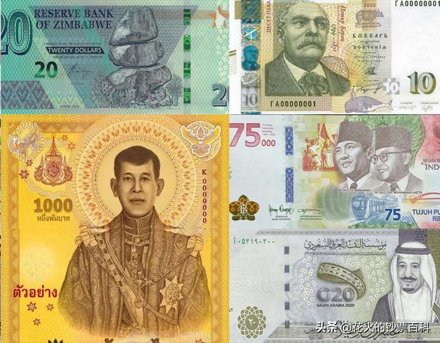 全世界钱币排名