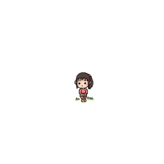 微信头像,宫崎骏千与千寻小头像可爱来袭