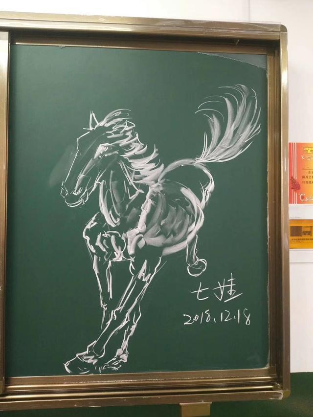 作为一名小学美术老师,粉笔画是不是你的必备技能呢?