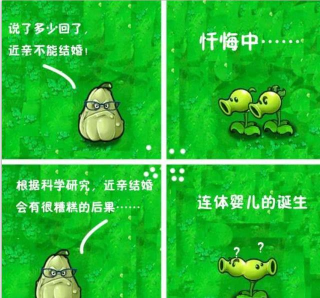 《植物大战僵尸》爆笑四格漫画欣赏_游侠网