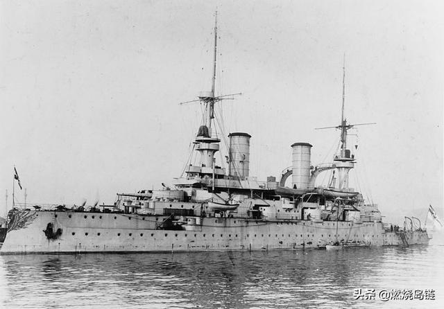 """德意志帝国海军前无畏舰——""""恺撒·腓特烈三世""""级战列舰"""