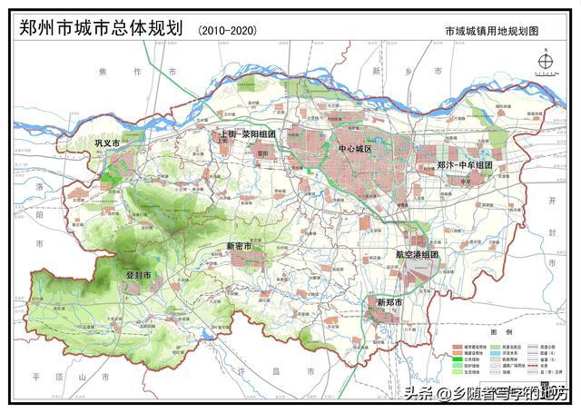 郑州市地图全图