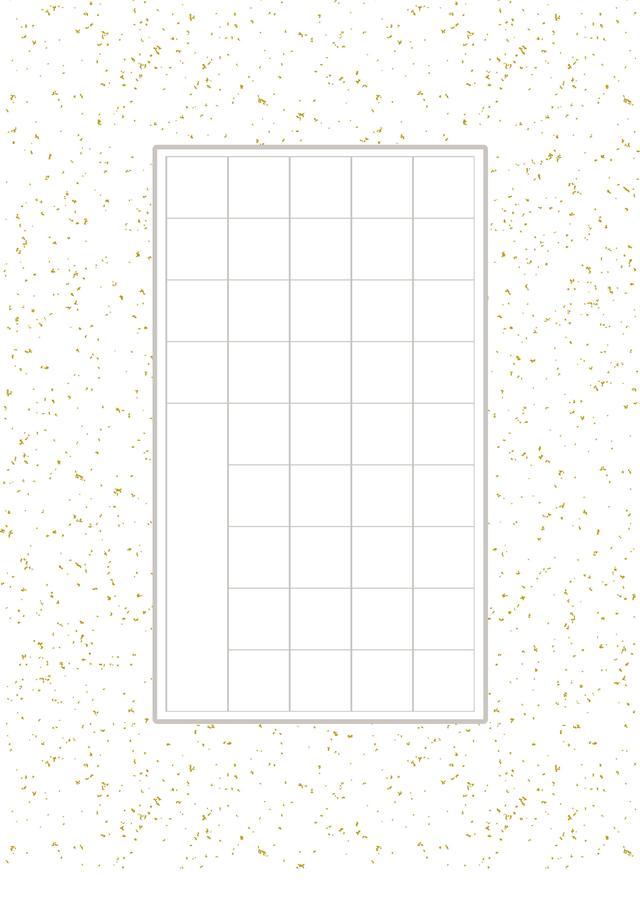 钢笔字书法方格纸a4下载|硬笔书法方格纸模板下载word版_当易网