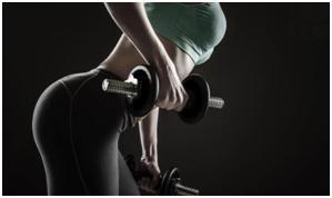 健身增肌减脂宣传海报