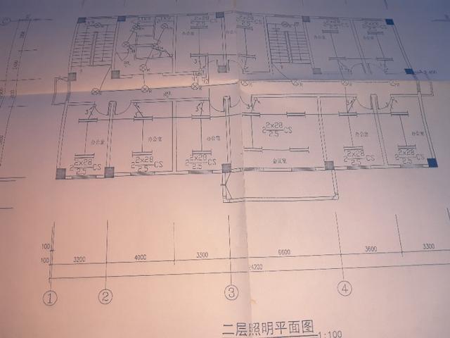 建筑预埋水电安装图纸