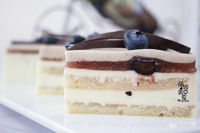 法式藍莓蛋糕的做法