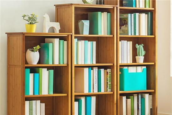 书柜三视图和尺寸标注
