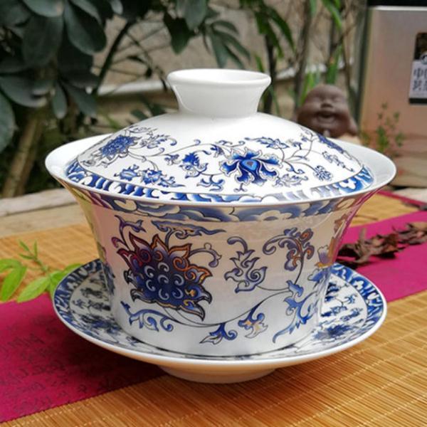 茶桌茶具正确摆放图片